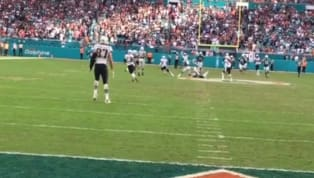 VIDEO: New Angle Shows Gronk Walked for Most of Final Play Before Dolphins Game-Winning TD