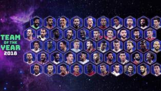 La UEFA anuncia los 50 nominados para el XI ideal del año