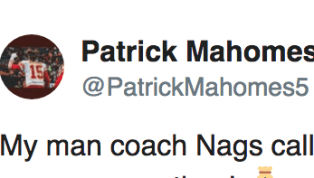 Patrick Mahomes Showed Major Love to Matt Nagy for Play-Calling Against Rams