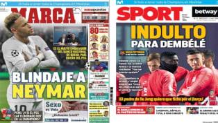 El blindaje de Qatar a Neymar y el indulto a Dembélé, protagonistas de las portadas