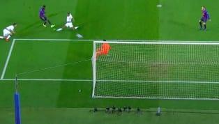 VIDEO: Dembele bức tốc như chiếc F1 từ nửa sân rồi sút tung lưới Lloris mở tỉ số