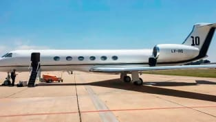 Report Reveals Details and Intriguing Pictures of Lionel Messi's £12m Private Jet