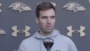 VIDEO: Joe Flacco Responds to Ravens Benching Him for Lamar Jackson