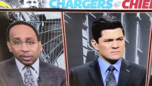 Stephen A. Smith Makes Slew of Embarrassing Mistakes on Air Discussing Hunter Henry and Spencer Ware
