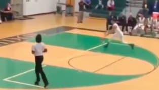 VIDEO: High School Basketball Player Throws Down Insane 360 Between-the-Legs Dunk