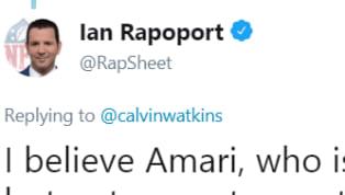 NFL Insider Ian Rapoport Calls Out Amari Cooper for Misinformation Regarding His Trade