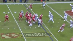 VIDEO: Patrick Mahomes Somehow Finds Demarcus Robinson for 5-Yard TD