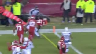 VIDEO: Darrel Williams Fights His Way for 11-Yard TD