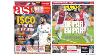La posible salida de Isco y los refuerzos holandeses del Barça en las portadas