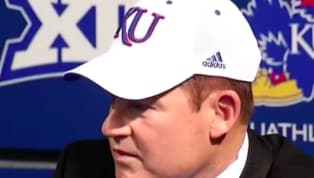 VIDEO: Les Miles Had No Idea What He Was Saying During Kansas Presser