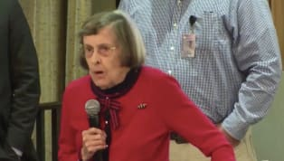 VIDEO: Angry Old Woman Eviscerates Suns Owner Robert Sarver at Town Hall
