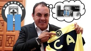 Cuauhtémoc Blanco revela que si no fuese por Ricardo Peláez le iría al Cruz Azul