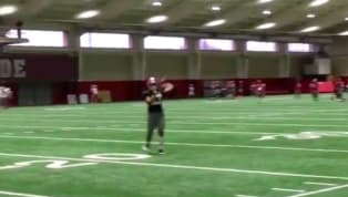 VIDEO: Tua Tagovailoa Active at Alabama Bowl Practice Despite Ankle Injury