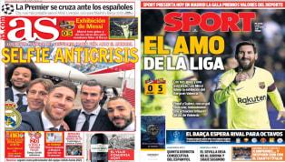 La llegada del Real Madrid a Abu Dhabi, el partidazo de Messi y el sorteo de Champions en portada