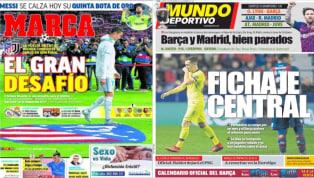 El desafío del Atlético ante Ronaldo y las urgencias del Barcelona, protagonistas de las portadas