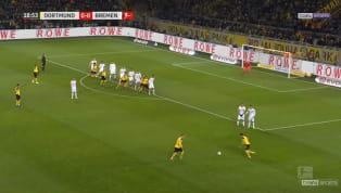 Le week-end dernier, le Borussia Dortmund accueillait le Werder Brême en Bundesliga. Lors de cette rencontre remportée 2-1 par les hommes de Lucien Favre, une...
