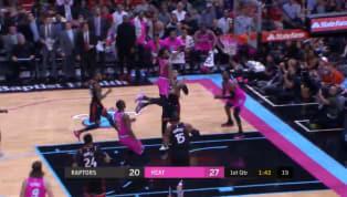 Miami Heatsalió a ponerle las cosas difíciles aToronto Raptorsen su cancha y mantuvo el dominio de la pizarra por una buena cantidad de minutos en la...