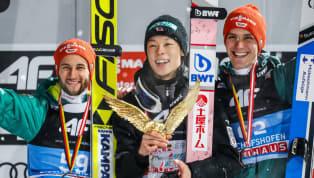 Auch beim letzen Springen der Vierschanzentournee war der Dominator Ryoyu Kobayashi nicht aufzuhalten. Der Japaner siegte am Sonntagin Bischofshofen und...