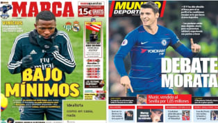 El diario As recoge en su portada los problemas que atraviesa el Real Madrid en cuanto a lesiones. Y es que a las siete bajas ya conocidas podría unirse la de...