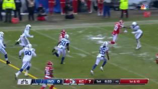 LosChiefscomenzaron mandando en el partido por de la ronda de división contra los Colts y en su segunda oportunidad a la ofensiva lograron un touchdown....