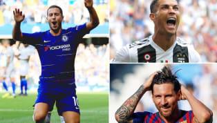 Trong cuộc phỏng vấn trên HLN, Eden Hazard đã được hỏi ai là cầu thủ vĩ đại nhất lịch sử. #Chelsea, #Hazard: '#Ronaldo? #Messi is the best player in the...