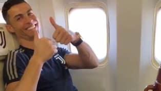 El portugués fue grabado por el volante argentino con un termo y un mate en pleno vuelo a Arabia Saudita. Juventus se prepara para disputar la Supercopa de...