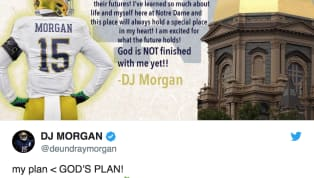 There's another name set to leave Notre Dame in hopes of finding a new team toplay for. Linebacker DJ Morgan has decided to search for a new school to finish...