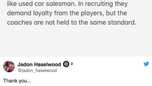 Jadon Haselwood is a five-star wide receiver signee for Oklahoma, who is already on campus as an early enrollee. Of late, though, he's been known for how...
