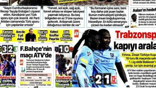 Ziraat Türkiye Kupası heyecanı ve kış transfer döneminde kulüplerimizle ilgili gelişmeler günün haberlerinde ağırlıklı olarak yer buldu. Perşembe gününün öne...
