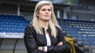 Imke Wübbenhorst est la première femme à entraîner dans l'une des cinq plus grandes divisions allemandes. Cette dernière est la coach du clubdu BV...