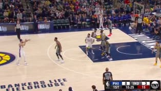 Mark it down on your calendars, everybody! Jan. 17, 2019 was the first time that Philadelphia 76ers point guard Ben Simmons attempted a three-pointer this...