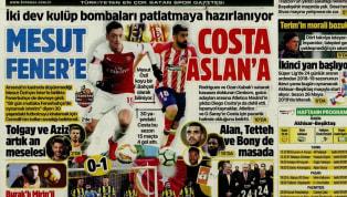 Fenerbahçe'nin Ümraniyespor deplasmanında elde ettiği 1-0'lık mağlubiyet, ağırlıklı olarak günün haberlerinde yer buldu. Akhisarspor-Beşiktaş maçı öncesindeki...