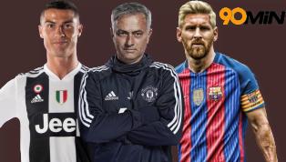 sau Câu hỏi 'Messi hay Ronaldo giỏi hơn' được đặt ra cho Jose Mourinho, nhưng nhà cầm quân này đã từ chối bình luận và chỉ khẳng định rằng đối đầu với ai cũng...