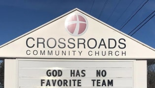 Everyone is getting ready for championship weekend, even on the Lord's day. There's nothing that will stop Patriots fans from watching their AFC Championship...