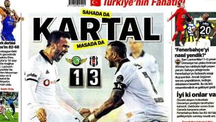 Beşiktaş'ın Akhisarspor deplasmanında elde ettiği 3-1'lik galibiyet ağırlıklı olarak günün haberlerinde yer buldu. Galatasaray-Ankaragücü maçı öncesindeki...