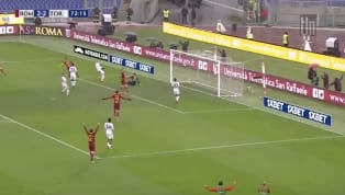  Roma El Shaarawy with the beautiful finish after a gorgeous pass from Pellegrini!!! What a back and fourth game, 3-2 at Stadio Olimpico! #tlnsoccer...