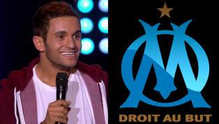 """En pleine tournée pour son spectacle """"Encore"""", Malik Bentalha était jeudi à Marseille. L'occasion pour l'humoriste, grand fan de foot et supporter du PSG, de..."""