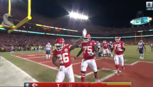 ​What a night for Damien Williams. With Kansas City trailing late, the speedster put the Chiefs up front with his third touchdown of the night. What a game! ...