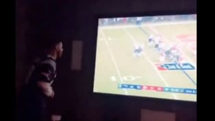 New York fans, shield your eyes, because this video will hurt you. On Sunday night, most of America and all of Boston were locked in to the AFC Championship...