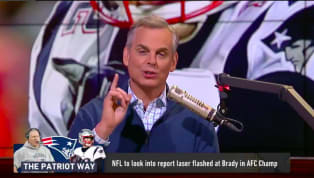 Colin Cowherd is mad. No, the man is FIRED up right now. During Sunday's game between the Patriots and Chiefs, a fan appeared to havepointed a laser right...