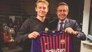 El último gran fichaje del Barcelona ha sido Frenkie De Jong, que se unirá al equipo el próximo verano. El precio es de 75 millones y otros 11 en variables,...