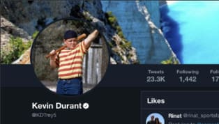 """Warriors forward Kevin Durant didn't even use the burner account for this one. On Sunday, Durant liked a tweet that said """"The media seems more about this than..."""