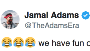 Jets safety Jamal Adams is doing his best this offseason to recruitNFL's biggest names to join him in New York. Though he has no need for Patriots mascots...