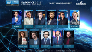 ESL announced the Counter-Strike: Global Offensivebroadcast talent that will be featured at the IEM Katowice Major from Feb. 13 until March 3. ️ Meet the...
