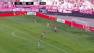 El sábado del fútbolargentinodejó una de esas patadas que no son fáciles de olvidar. Fue en el Estudiantes-Patronato y Rodrigo Braña fue el que la sufrió....