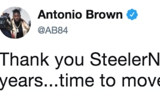 ​The ​Antonio Brown saga just took another major turn, as the star wide receiver just posted a cryptic tweet in which he said goodbye to the team and fans....