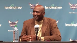 ​In a press conference promoting the kick off to All-Star weekend in his team's city, Charlotte Hornets owner and NBA legend Michael Jordan handled the media...