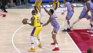 Inicia la jornada del martes por la nocheen la NBA, con el partido entreLos Angeles LakersyAtlanta Hawks. Apenas en el primer cuarto, LeBron...