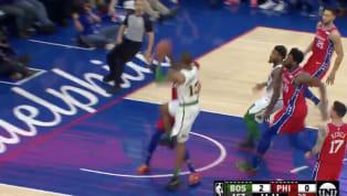 Partido entre dos grandes contendientes en la Conferencia Este de la NBA,Boston Celticsvisita aPhiladelphia 76ers. En el primer minuto de acción,...