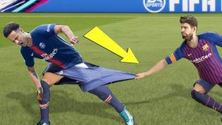 Sút cả trăm quả vẫn không vào, cầu thủ bị tông văng xa cả chục mét, thủ môn lóng ngóng tự phản lưới,...đó là những lỗi trong tựa game FIFA 2019 đình đám....